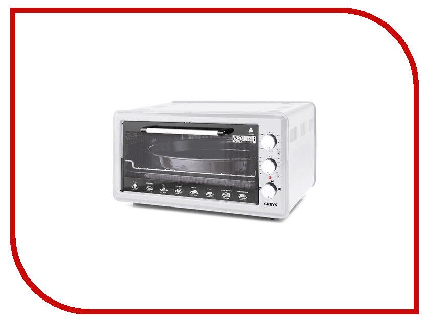 цена на Мини печь Greys RMR-4008 White