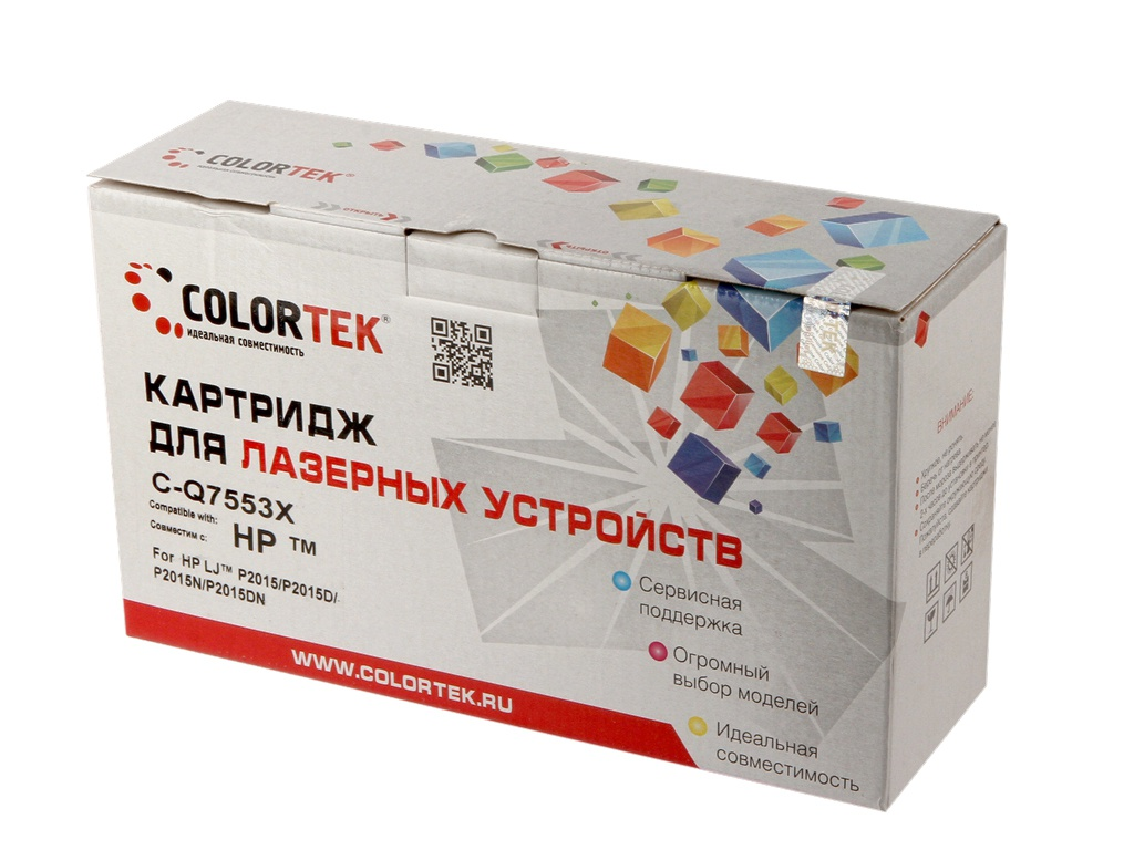 Картридж Colortek Black для LaserJet M2727/P2014/P2015