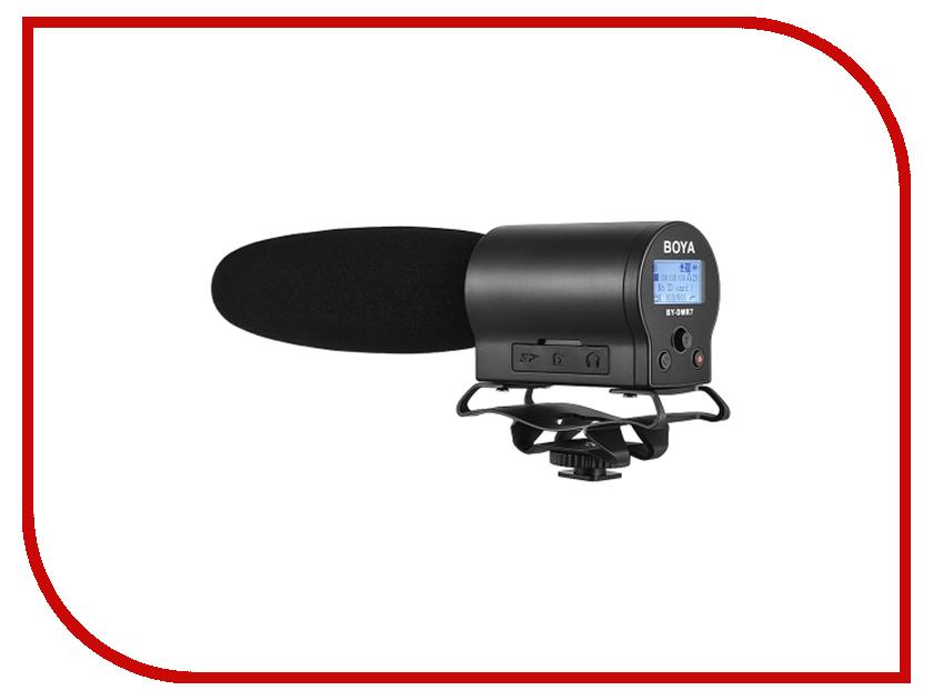 Микрофон Boya BY-DMR7 аксессуар boya ветрозащита by b05f