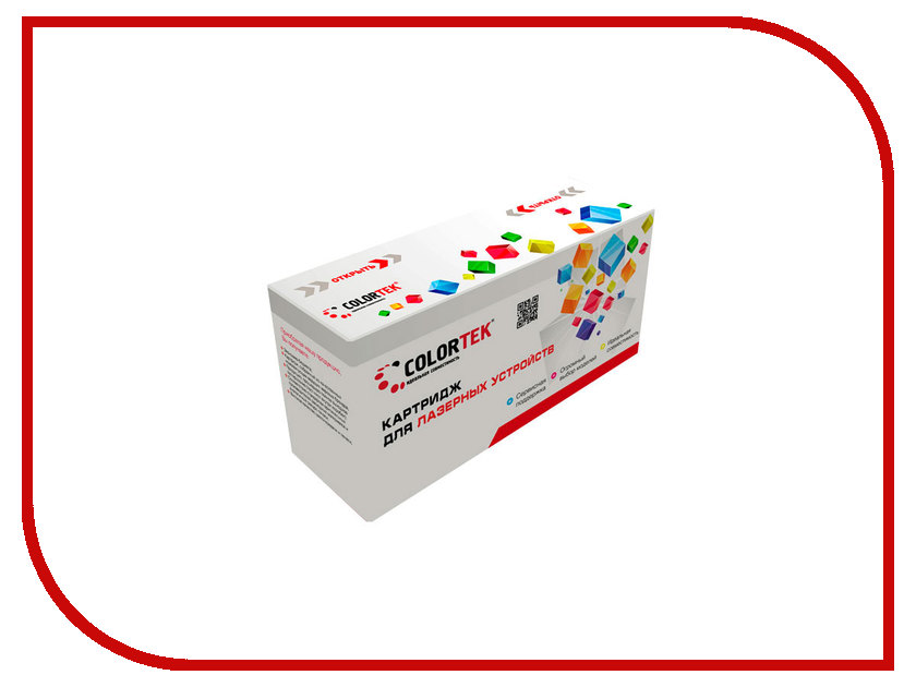 Картридж Colortek Black для LaserJet 1010/1012/1015/1018/1020/1022/3015/3020/3030/3050/3052/3055/M1005/M1319 q2612a compatible printer black cartridge for hp lj2300 3380 more laserjet printers