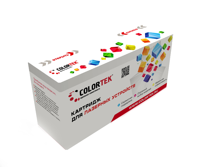 Картридж Colortek Black для LaserJet Pro-P1606/Pro-P1566/Pro-M1536