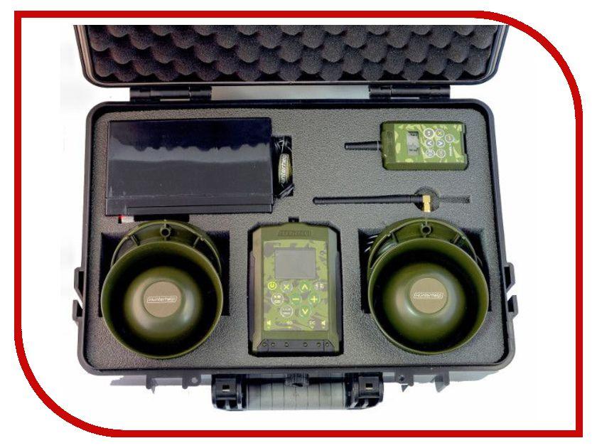 Электронный манок Hunterhelp Pro-3 Фонотека №7 спец выпуск динамик Альфа в кейсе