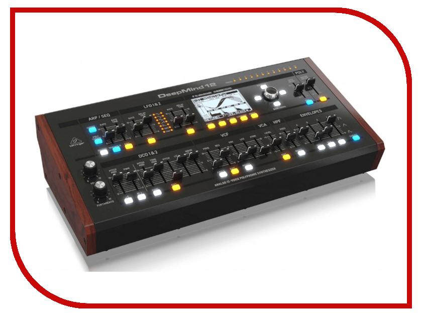 Синтезатор Behringer DeepMind 12D behringer hpx6000