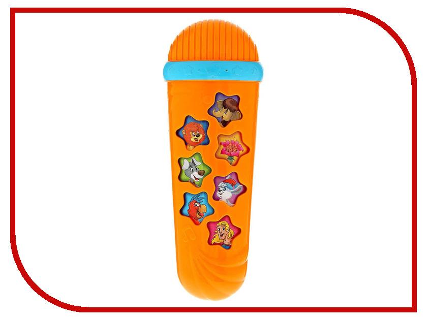 Детский музыкальный инструмент Азбукварик Микрофон Караоке Я пою 4630014080918