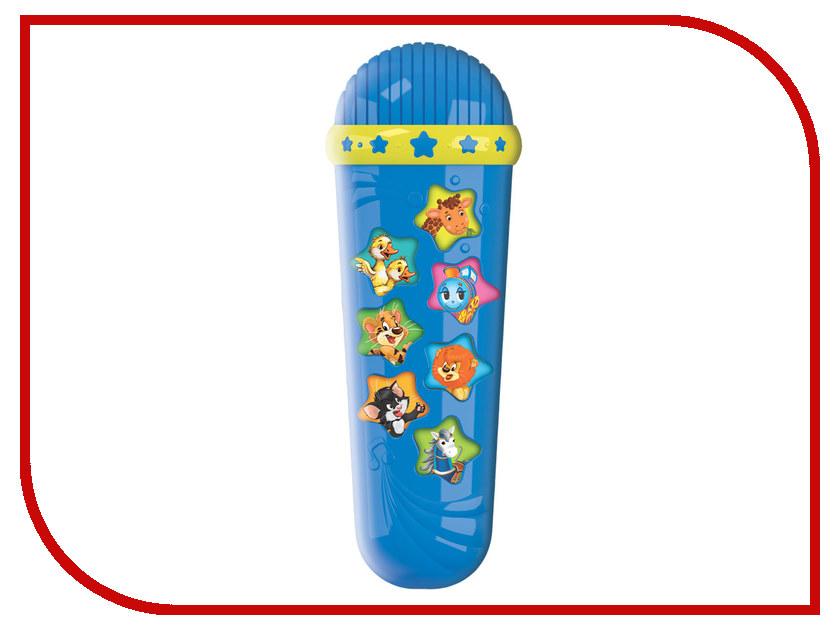Детский музыкальный инструмент Азбукварик Микрофон Караоке Чунга-чанга 4630014080901