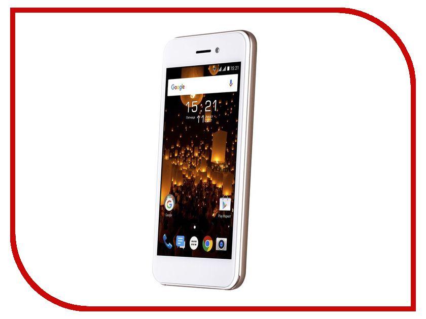 Сотовый телефон Fly FS459 Nimbus 16 LTE Champagne смартфон fly fs509 nimbus 9 черный