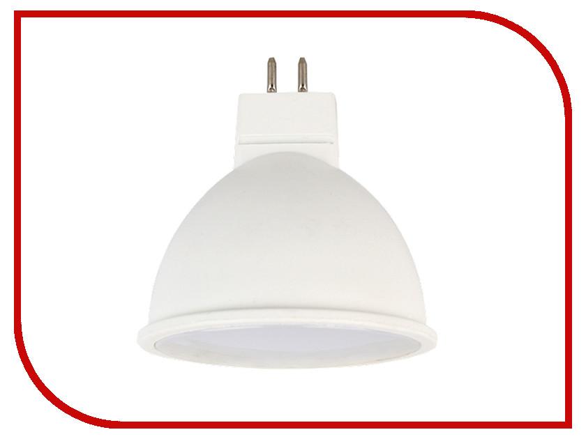 Лампочка Ecola MR16 LED Premium GU5.3 5.4W 220V 4200K матовое стекло M2UV54ELB