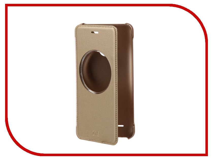 Аксессуар Чехол ZTE Blade V8 mini LightCover Gold