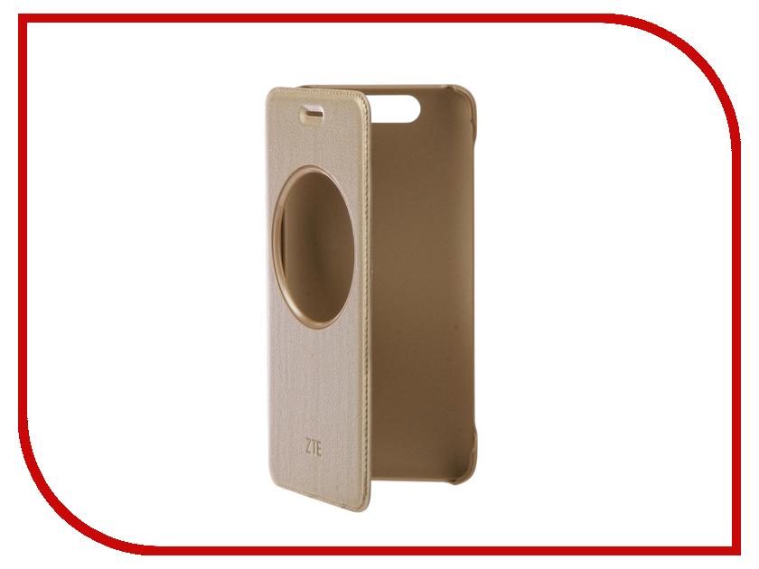 Аксессуар Чехол ZTE Blade V8 LightCover Gold смартфон zte blade v8 mini 32gb gold