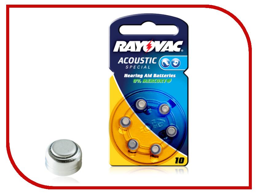 Аксессуар Varta Rayovax Type 10 04606945416