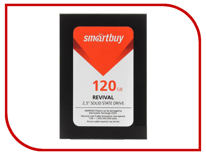 Жесткий диск 120Gb - SmartBuy Revival SB120GB-RVVL-25SAT3