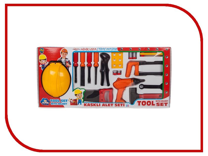 Игра Pilsan Набор строителя с каской 3249plsn игра pilsan tool set 3230plsn