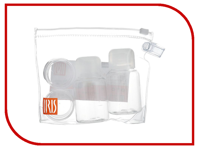 Набор для специй Iris I2985-P Transparent