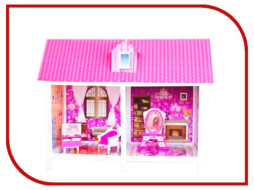 Игра Paremo 1-этажный кукольный дом PPCD116 paremo 2 этажный кукольный дом угловой 4 комнаты мебель 2 куклы paremo