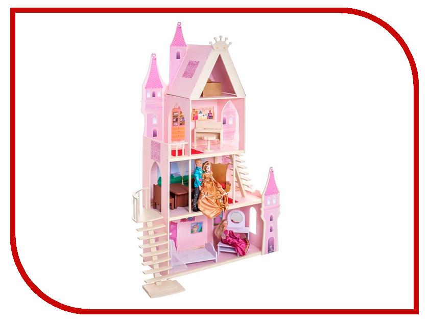 Кукольный домик Paremo Кукольный дворец Розовый сапфир PD316-05 магазин игровой деревянный paremo фиолетовый