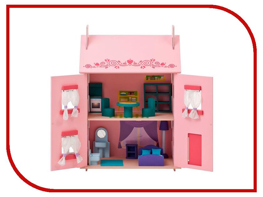 Игра Paremo Большой домик из дерева для кукол Милана PD115-01 кукол домик