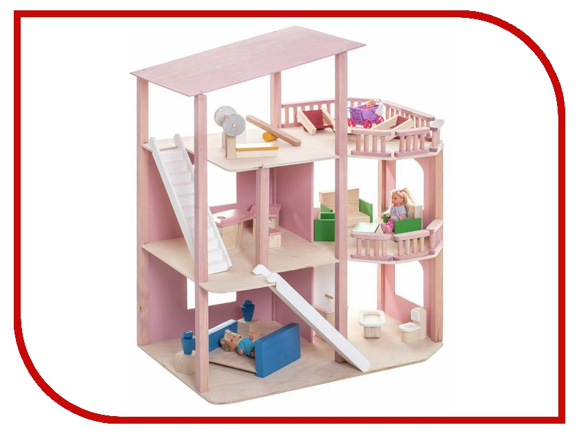 Игра Paremo Кукольный домик Коралловый риф PD216 кукольный домик из картона четыре комнаты картонный папа