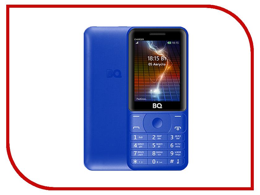 Сотовый телефон BQ 2425 Charger Blue мобильный телефон bq m 2425 charger dark blue
