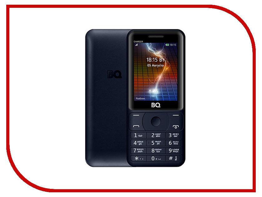 Сотовый телефон BQ 2425 Charger Dark Blue мобильный телефон bq m 2425 charger dark blue
