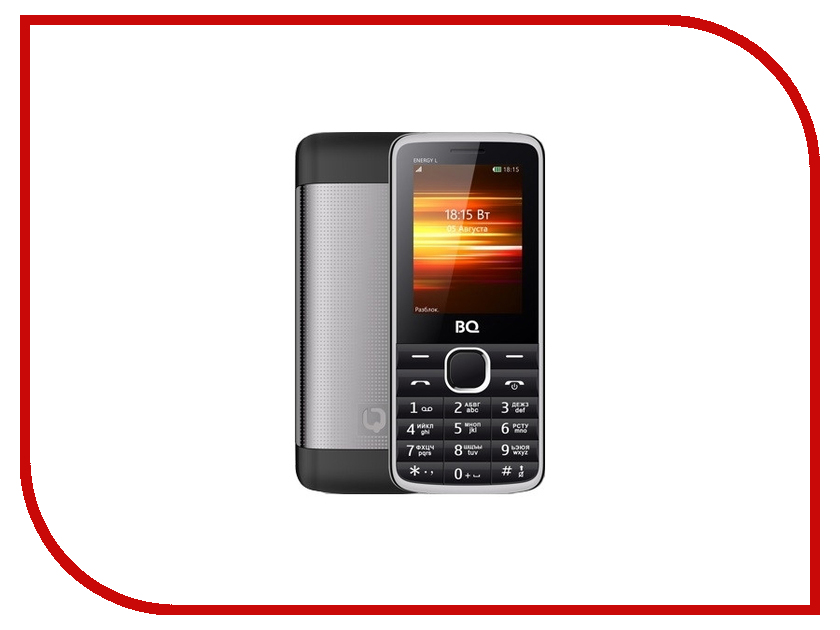 Сотовый телефон BQ 2426 Energy L Black
