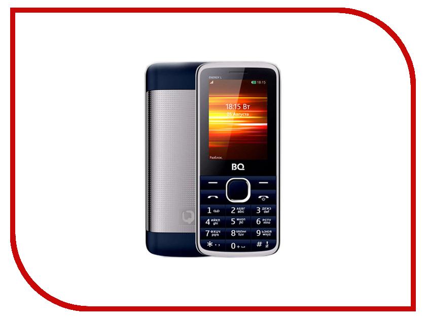 Сотовый телефон BQ 2426 Energy L Dark Blue сотовый телефон bq 5009l trend dark blue