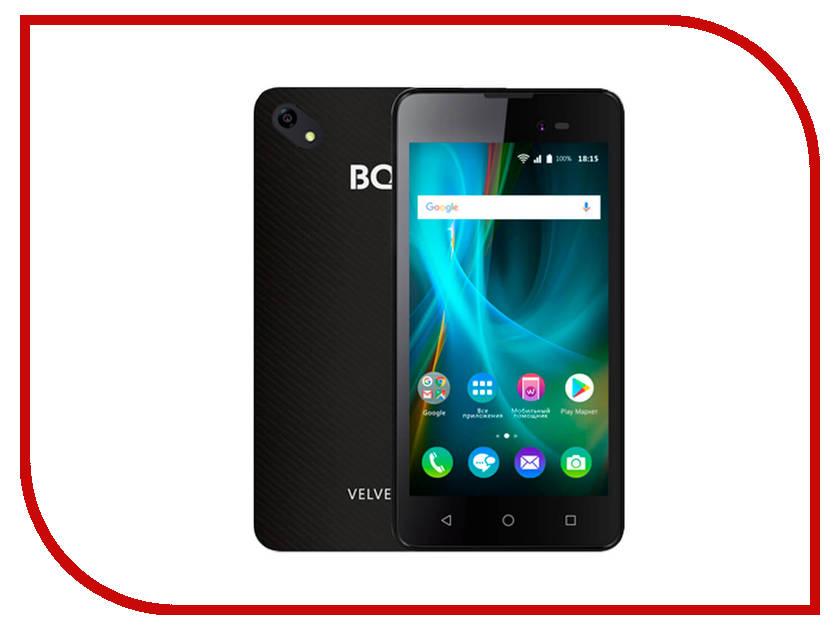 Сотовый телефон BQ 5035 Velvet Black мобильный телефон bq mobile bq 5035 velvet silver