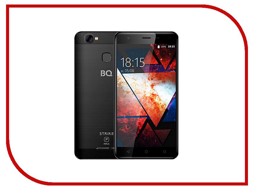 Сотовый телефон BQ 5521 Strike Power Max Black Brushed смартфон bq mobile bq 5059 strike power grey matt