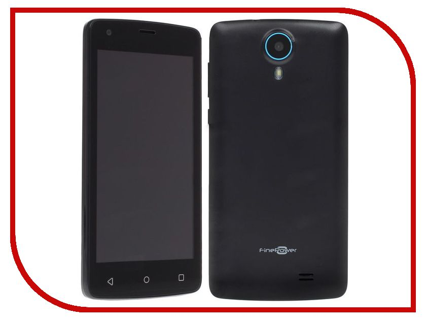 Zakazat.ru: Сотовый телефон FinePower C6 Black
