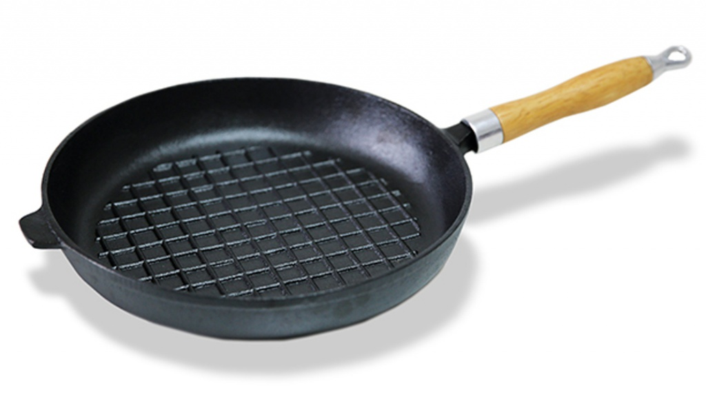 Сковорода Fissman 27cm CI-4096 сковорода fissman 27cm ci 4096