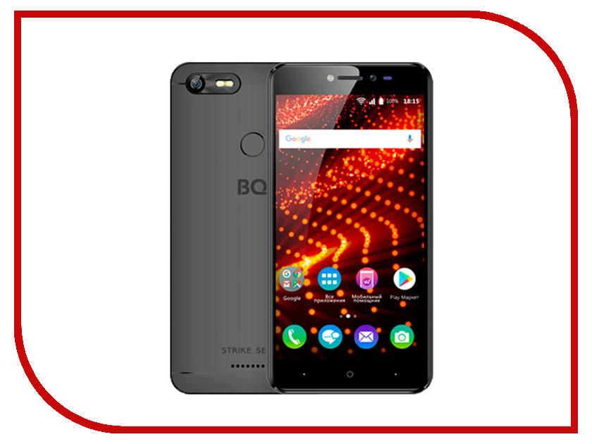 Сотовый телефон BQ 5204 Strike Selfie Black gp206 portable retractable 6 section aluminum alloy selfie monopod w strap pink black