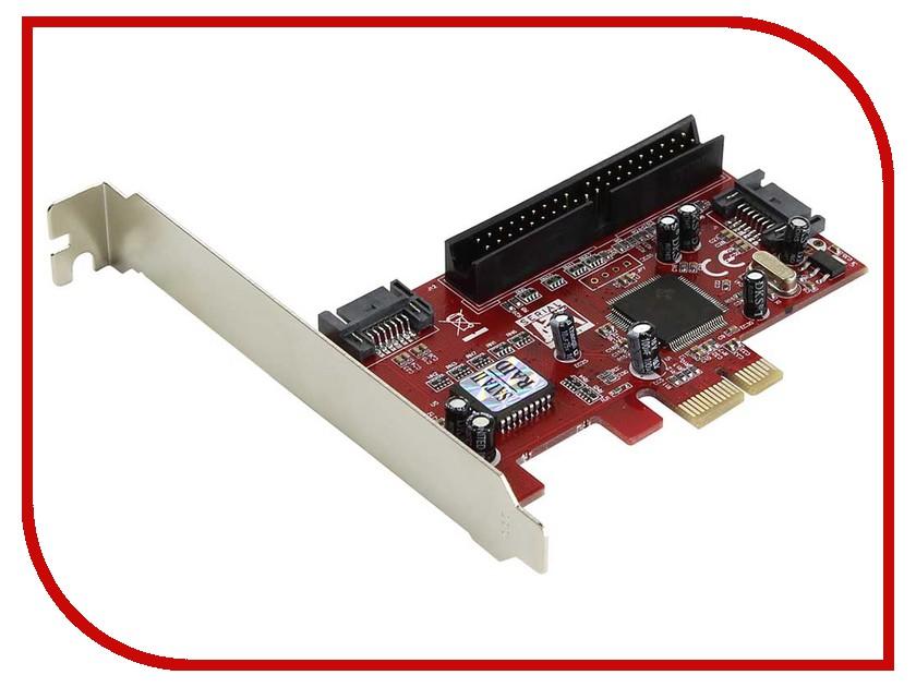 Контроллер Espada PCI-E SATA2 2port + eSata 2port+IDE RAID JMB363 PCIE005 контроллер pci e jmb363 raid 1xe sata 1xsata 1xide jmb363 [asia pcie 363 sata ide]