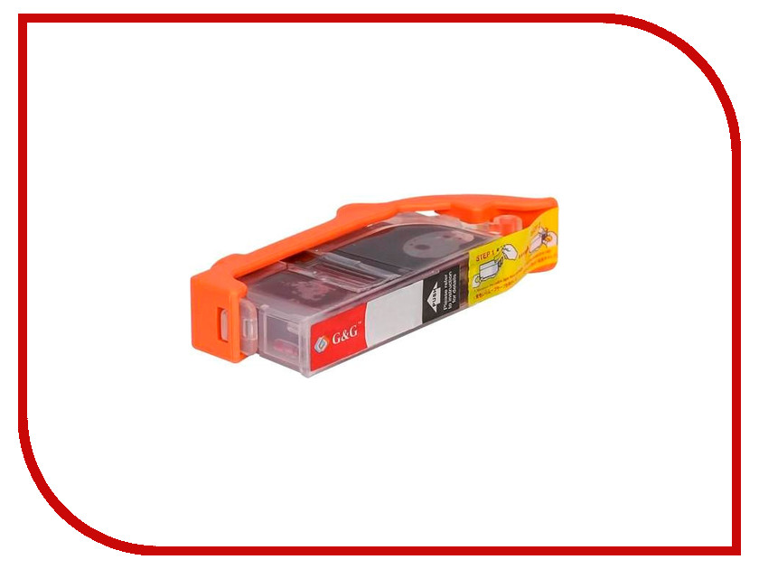 Картридж G&G NC-PGI-450XLBK Black для Pixma IP7240 MG5440/6340