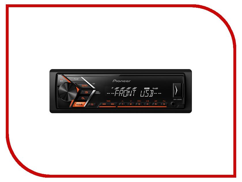 Автомагнитола Pioneer Flash MVH-S100UBA автомагнитола pioneer flash mvh s100ubg