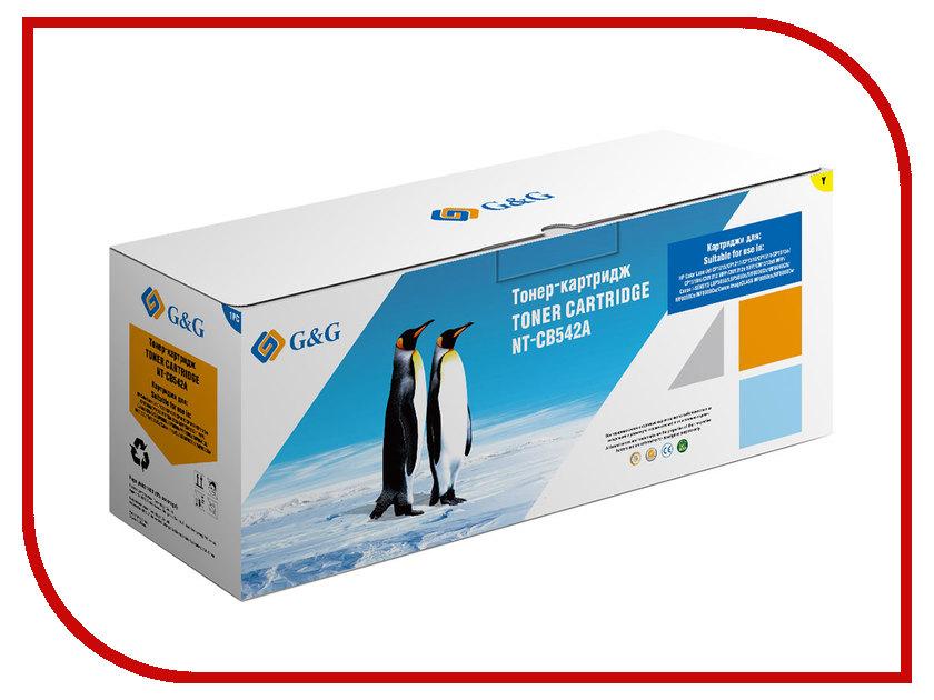Картридж G&G NT-CB542A Yellow для Color LaserJet CM1312 CP1215/1515/1518 g&g nt d104s тонер картридж для samsung ml 1660 1661 1665 scx 3200 3205 3207 3210 3217