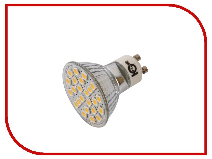 Лампочка Юпитер Dimm GU10 3W AC220-240V 380 Lm Warm White GU10-DI24S5 globex senior2 gu s02 купить