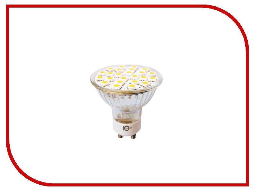 Лампочка Юпитер GU10 3W AC220-240V 380 Lm Warm White GU10-24S5 globex senior2 gu s02 купить