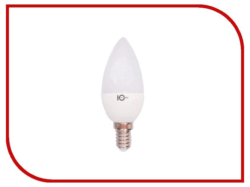 Лампочка Юпитер C37 E14 3.5W AC220-240V 375 Lm Warm White