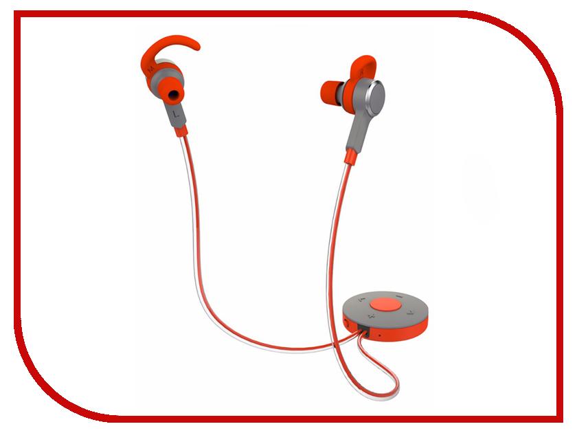 Наушники Rock Mulu Glow Earphone Bluetooth Red