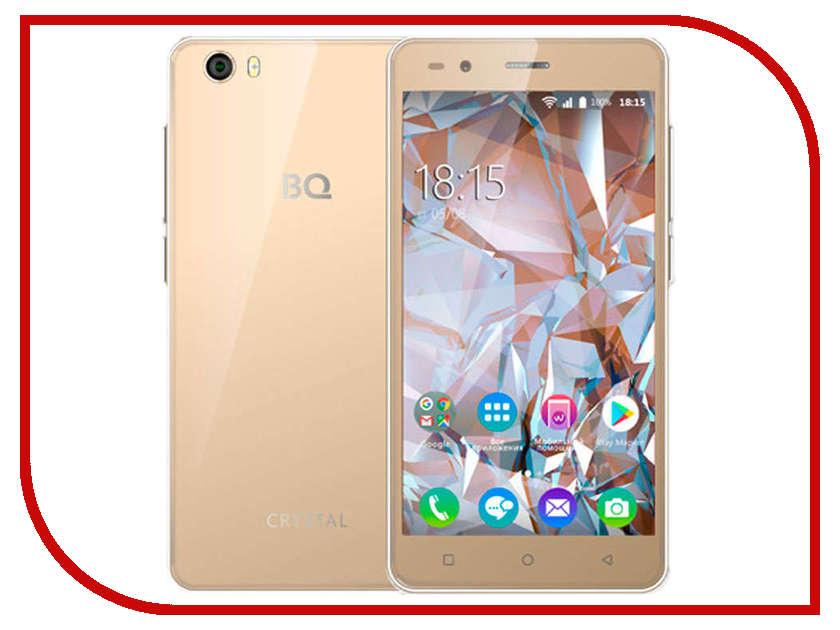 Сотовый телефон BQ 5054 Crystal Gold сотовый телефон philips e311 xenium navy