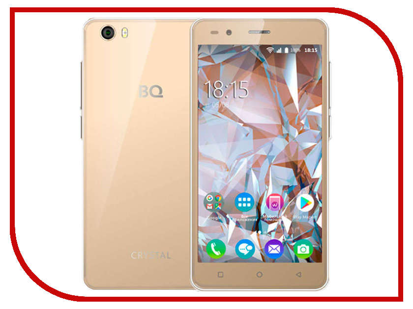 Сотовый телефон BQ 5054 Crystal Gold мультиварка sinbo sco 5054