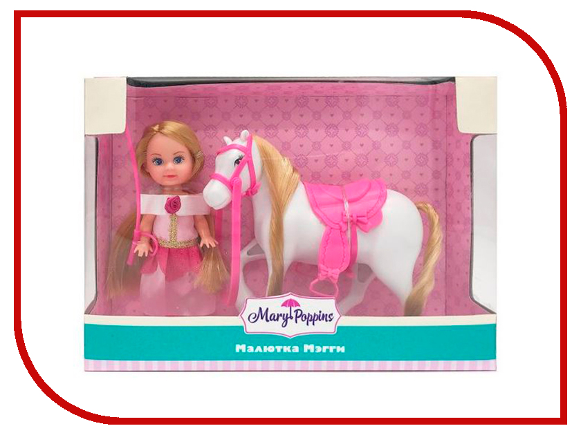 Кукла Mary Poppins Кукла Мегги Любимая лошадка 451209