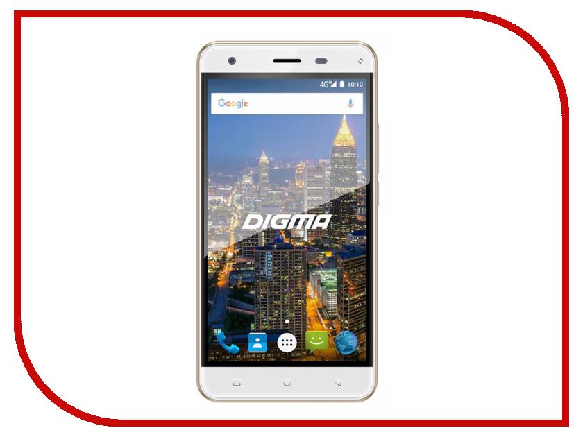 Сотовый телефон Digma CITI ATL 4G White сотовый телефон digma linx a501 4g black