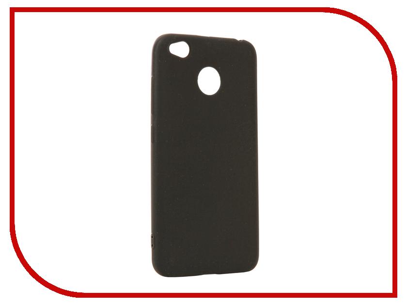 Аксессуар Чехол для Xiaomi Redmi 4X Neypo Silicone Soft Matte Black NST2412