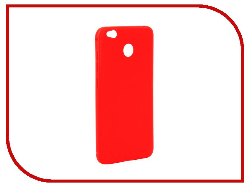Аксессуар Чехол Xiaomi Redmi 4X Neypo Silicone Soft Matte Red NST2637