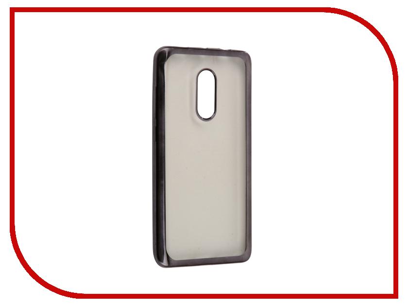 Аксессуар Чехол Xiaomi Redmi Note 4X Neypo Aura Silicone Grey metallic NSTA0262 смартфон lenovo k6 note k53a48 grey