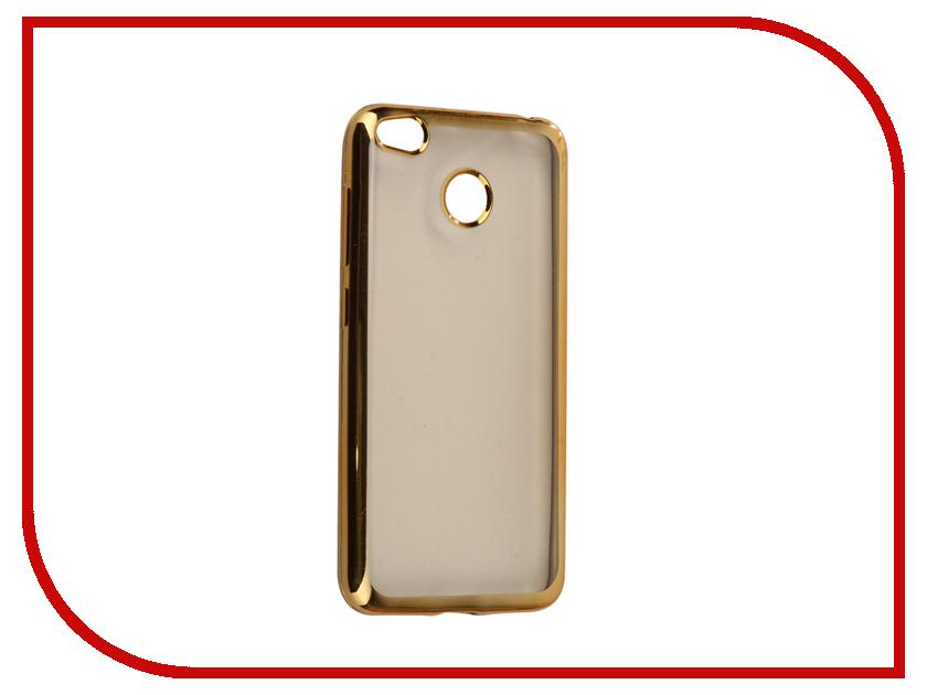 Аксессуар Чехол Xiaomi Redmi 4X Neypo Aura Silicone Gold metallic NSTA0260