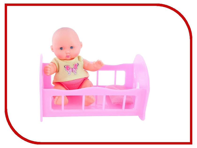 Кукла Mary Poppins Пупс Крошка Тими в кроватке 451170
