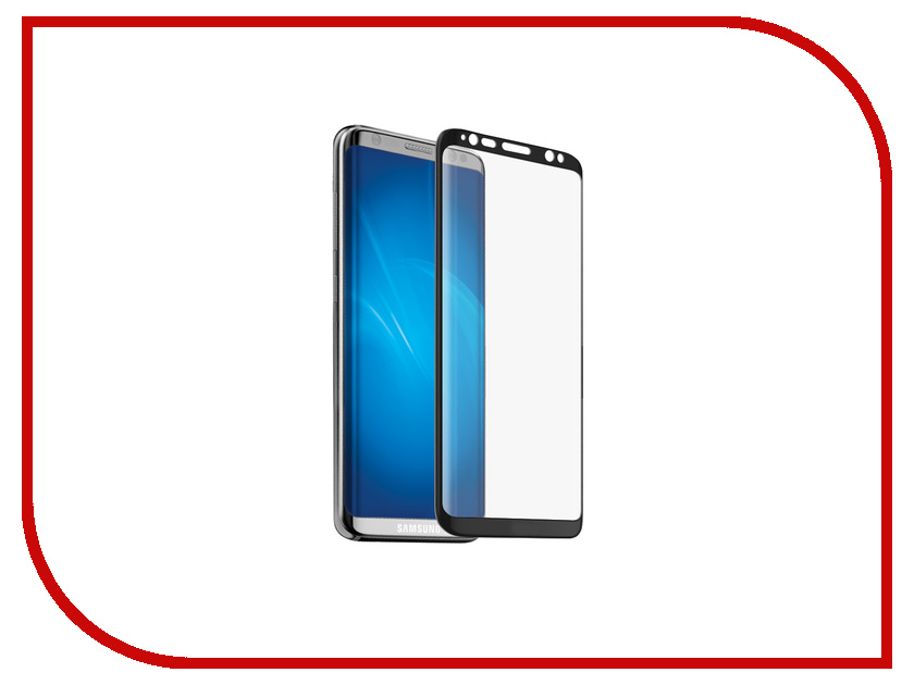Аксессуар Защитное стекло Samsung Galaxy S8 Neypo 3D Full Glass Black frame NG3D0018 аксессуар защитное стекло samsung galaxy s8 smarterra full cover glass black sfcgs8bk