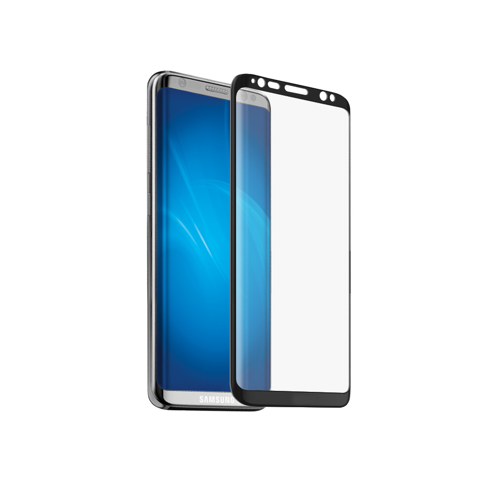 Аксессуар Защитное стекло Neypo для Samsung Galaxy S8 3D Full Glass Black Frame NG3D0018 аксессуар защитное стекло для samsung galaxy s8 smarterra full cover glass black sfcgs8bk