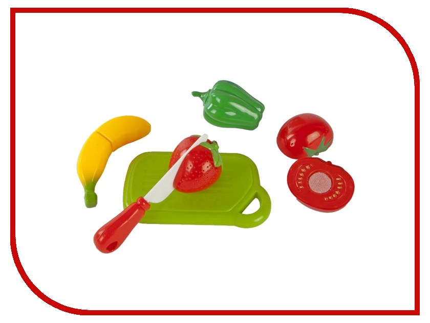 Набор для резки Mary Poppins овощи и фрукты 453044 игра mary poppins набор для резки овощей 453042